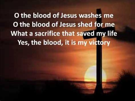 Lyrics To The Blood That Jesus Shed For Me o the blood selah lyrics