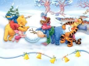 winnie pooh christmas christmas wallpaper 2735506
