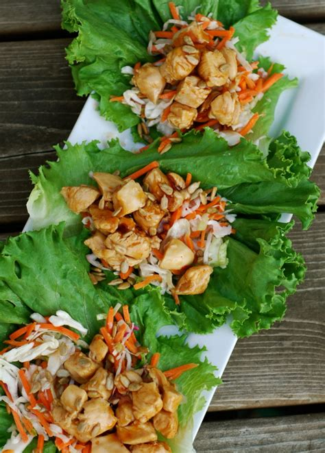 Lettuce General general tso s chicken lettuce wraps chindeep