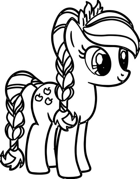 coloring pages ponytail 54 besten my little pony coloring pages bilder auf