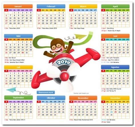 kalender  versi excel   darmawan blog