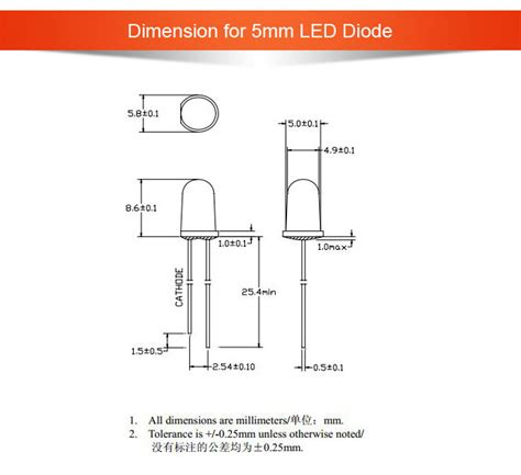 led diode type bright 5mm 3mm water clear blue led diodes buy 5mm led diode water clear 5mm led diode
