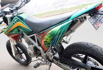 modifikasi vespa cross modif kawasaki klx150 motor cross auto modif ikasi trend