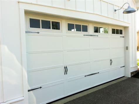 recessed panel doors recessed carriage panel house garage doors st cloud mn