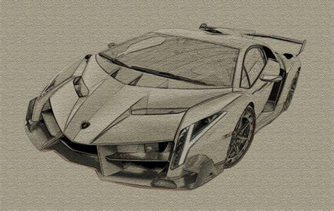 Lamborghini Veneno Canvas Sketch By Zapdosify On Deviantart