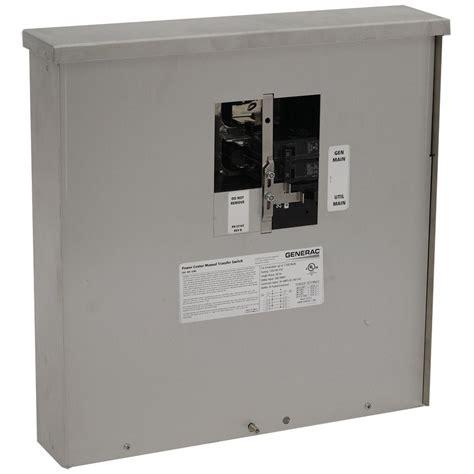 generac 200 7 500 watt non fuse outdoor manual