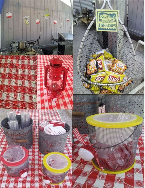 Decorative Tin Containers 36 Best Images About Fish Fry Party On Pinterest