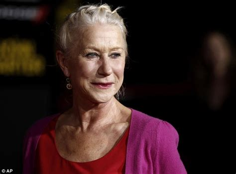 Helen Mirren shows off colour blocking style and Grecian