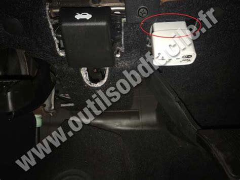 on board diagnostic system 1969 dodge charger parking system obd2 connector location in dodge charger 6 2006 2010 outils obd facile