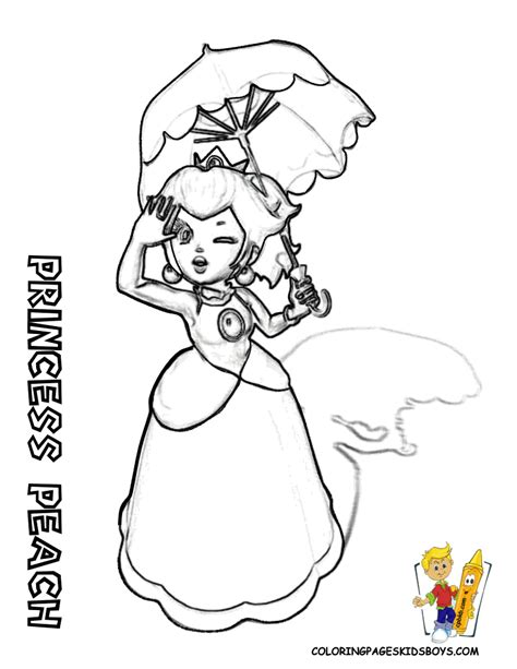 free coloring pages of rosalina mario