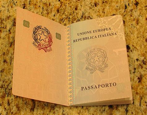 italian passport template file italian bio passport2 jpg