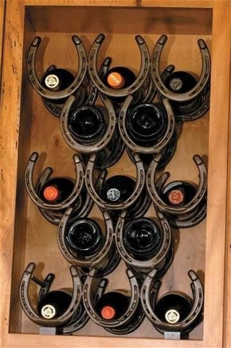 Shoe Wine Rack by 25 Best Ideas About Horseshoe Wine Rack On