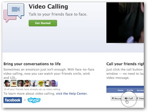 fb video call how to enable and use facebook video chat