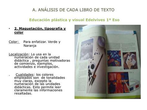 comparativa libros de texto de educacion plastica y visual 1 186 de la e