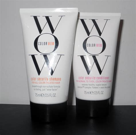 color wow reviews color wow color security shoo and conditioner review
