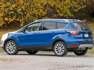 Ford Escape Blue 2017 Ford Escape Spotted Kelley Blue Book
