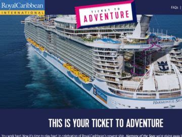 Royal Caribbean Sweepstakes - royal caribbean ticket to adventure sweepstakes