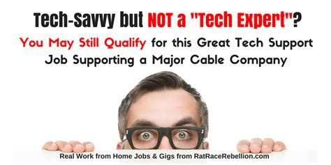 not quot really techie quot you may still qualify for this