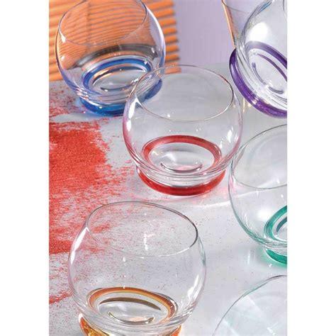 bicchieri rogaska trottola 6 bicchieri basculanti rogaska domustore