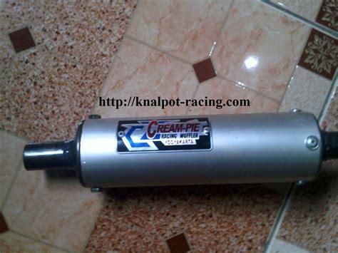 Knalpot Fdr Racing Blue For Matic Mio Vario Beat Dll knalpot r9 new monza n250 knalpot r9