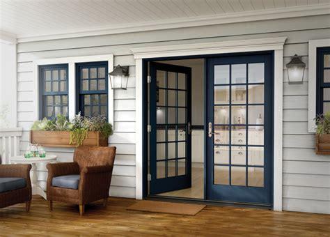 outward swing french patio doors milgard essence series in swing and out swing french patio