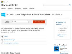 administrative templates administrative templates admx for windows 10