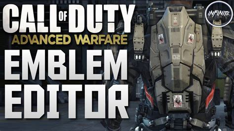 emblem maker call of duty emblem editor returning to call of duty advanced warfare