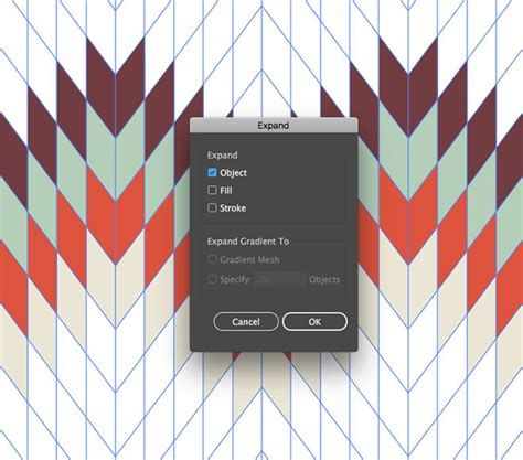 adobe illustrator expand pattern how to create a geometric pattern in adobe illustrator
