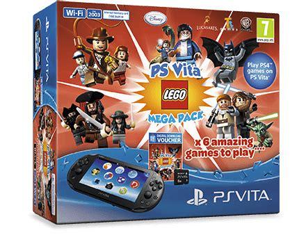 Psvita The Lego Videogame ps vita wi fi lego mega pack psvita konzolvil 225 g