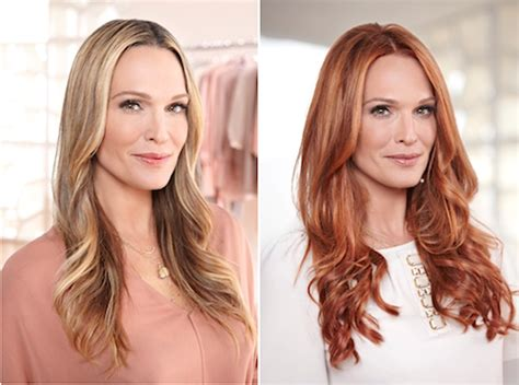 what color should molly be preview before after photos molly sims goes with new