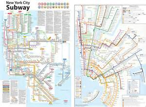 New York Subway Map With Streets by Pin Nyc Subway Map With Streets Page 2 On Pinterest