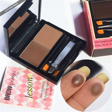 Benefit Brow Zing by Benefit Cosmetics Brow Zings Eyebrow Shaping Kit Review