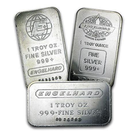 1 Troy Oz Engelhard Silver Bars - 1 oz silver bar engelhard 1 oz silver bars apmex
