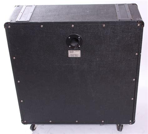 marshall jcm 800 4x12 cabinet marshall jcm800 1960a 4x12 quot 1982 black for sale