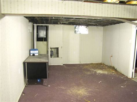 Partially Finished Basement Ideas Before And After Makeovers Mudrooms Laundry Rooms Basements And More Storage Ideas How