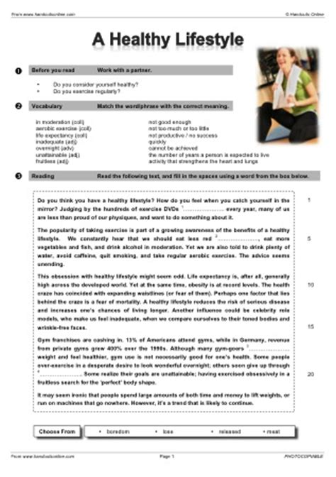 17 best images of healthy lifestyles worksheets for handouts world cup olympics worksheets 17 b