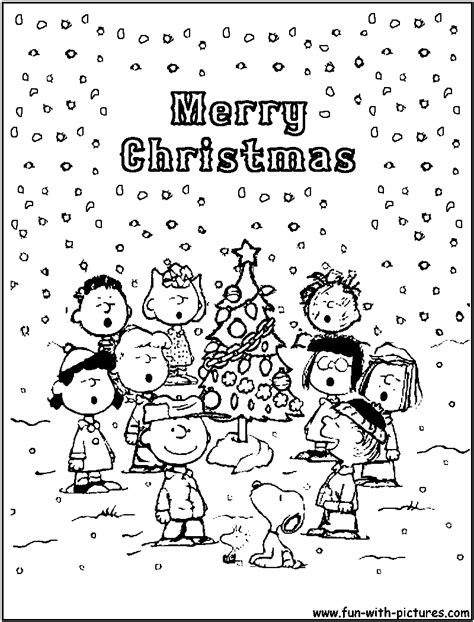 free coloring pages of the charlie brown and snoopy show