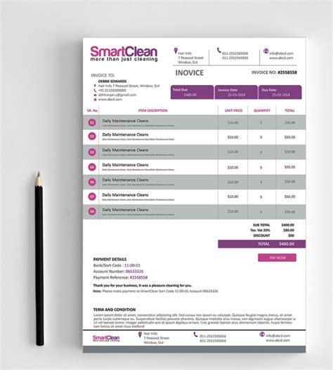 design your creative invoice fiverr