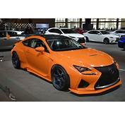 Lexus RC F Widebody Beast Ends Up In Chicago  Carscoops