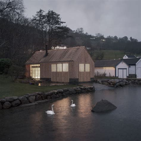 boathouse architecture norwegian architecture and design dezeen