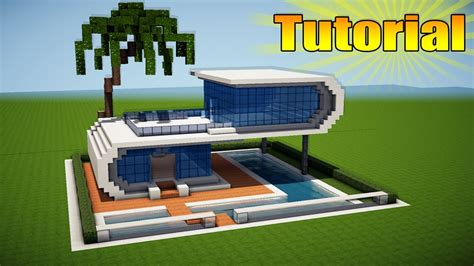 minecraft modern house tutorial minecraft modern beach house tutorial how to build a