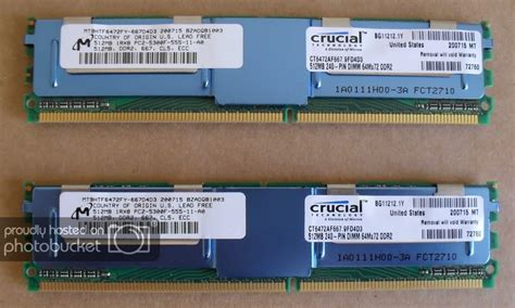 Rc Sport Car Mcqueen 512 2 crucial 1gb 2x512mb ddr2 pc2 5300f ecc reg server ram
