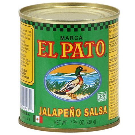 el pato jalapeno salsa 7 75 oz pack of 24 walmart