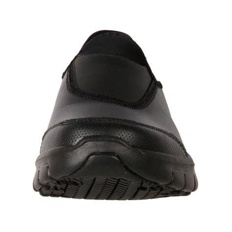 new skechers s leather anti slip work duty shoe
