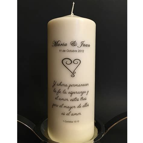 Wedding Quotes For Unity Candle by Personalized Unity Candle Set Awesome Candles By You
