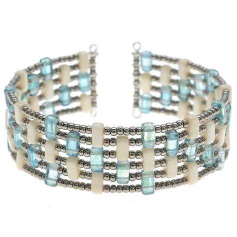 beaded cuff bracelet tutorial tutorial how to kavala cuff memory wire bracelet with
