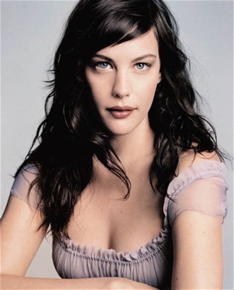 liv tyler hairstyles for narrow face shapes long face shape the box