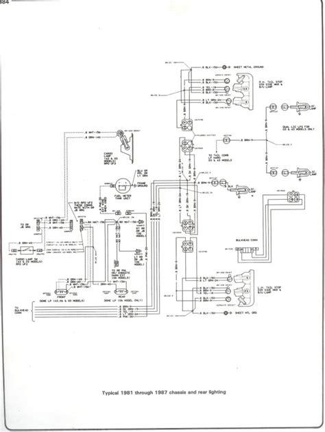 1985 silverado wiring diagram