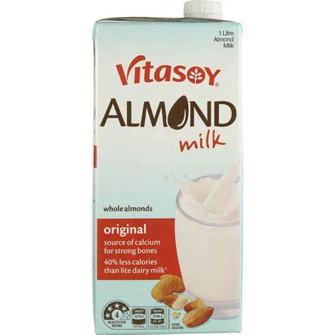 Almond Milk 1l vitasoy almond milk original 1l woolworths