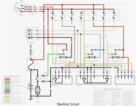 harley softail wiring diagram simple motorcycle wiring